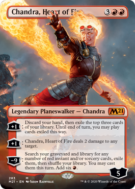 Chandra Heart of Fire Borderless