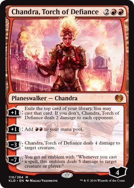 Chandra Torch of Defiance Kaladesh Remastered Spoilers