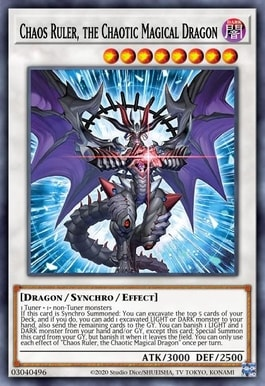 Chaos Ruler, the Chaotic Magical Dragon