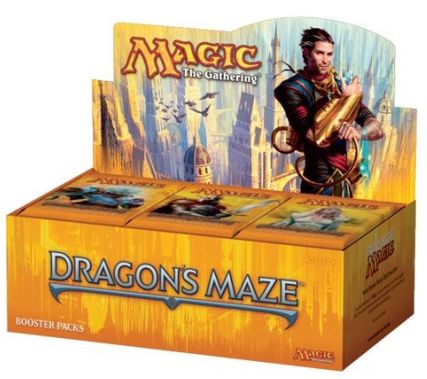 Cheapest MTG Booster Box Dragons Maze