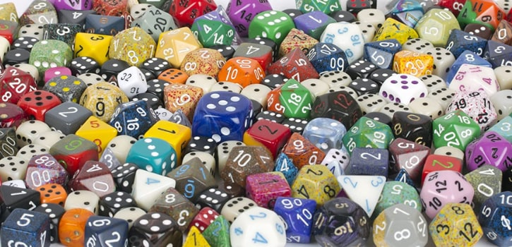 Chessex Pound-O-Dice Best Dice Lots for RPG DND