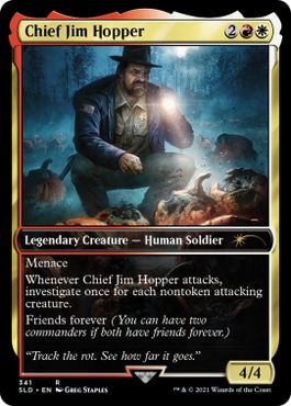 Chief Jim Hopper MTG Cards