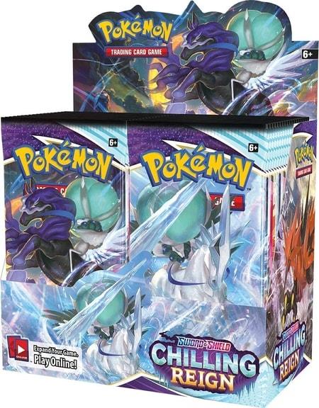 Chilling Reign Best Pokemon Booster Box