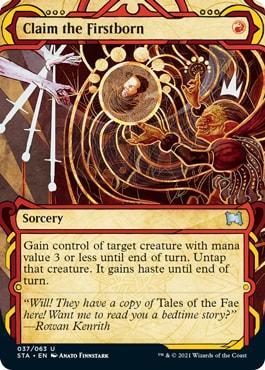 Claim the Firstborn Mystical Archive Card List
