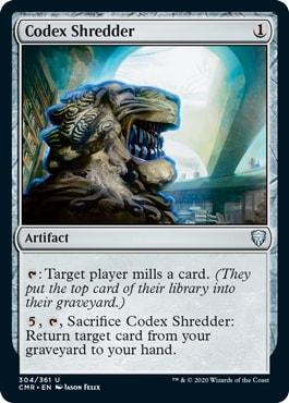 Codex Shredder Commander Legends