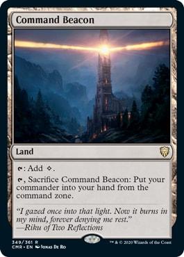 Command Beacon How to Avoid Commander Tax