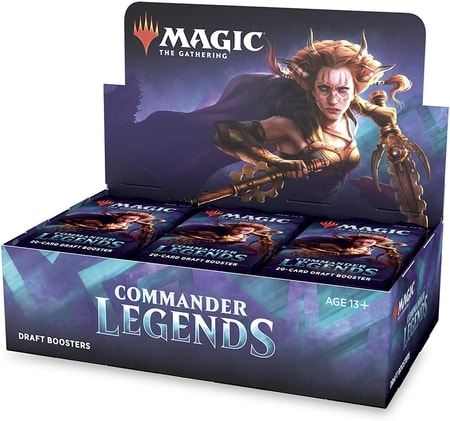 Commander Legends Best Booster Box for Commander MTG