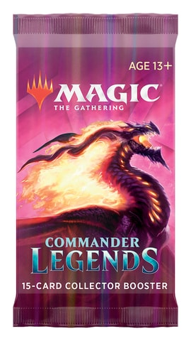 Commander Legends Collector Booster Contents