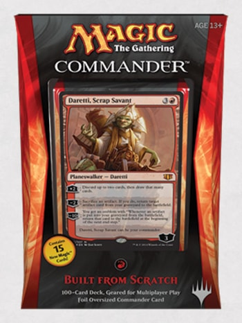 Commander Precons Daretti Built from Scratch