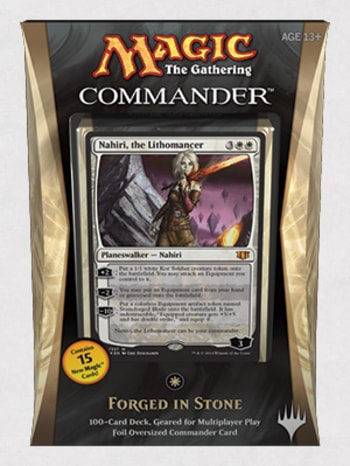 Commander Precons Forged in Stone Nahiri