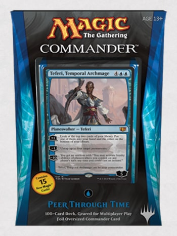 Commander Precons Peer Through Time Teferi
