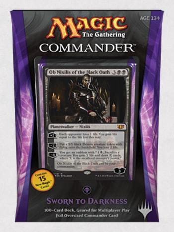 Commander Precons Sworn to Darkness