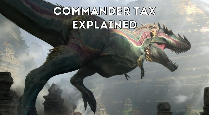 Commander Tax Rules Explained Banner