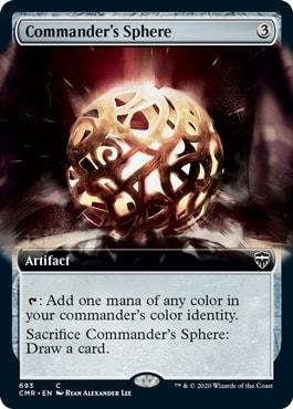 Commander's Shere Extended Art