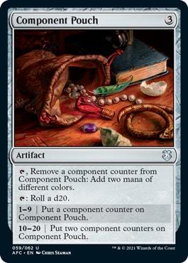 Component Punch DND Commander Decks