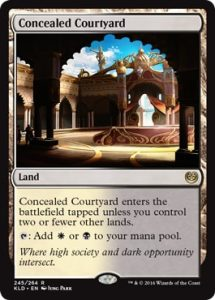 Concealed Courtyard Fast Land