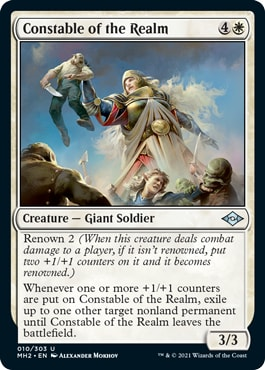 Constable of the Realm Modern Horizons 2 Draft Guide