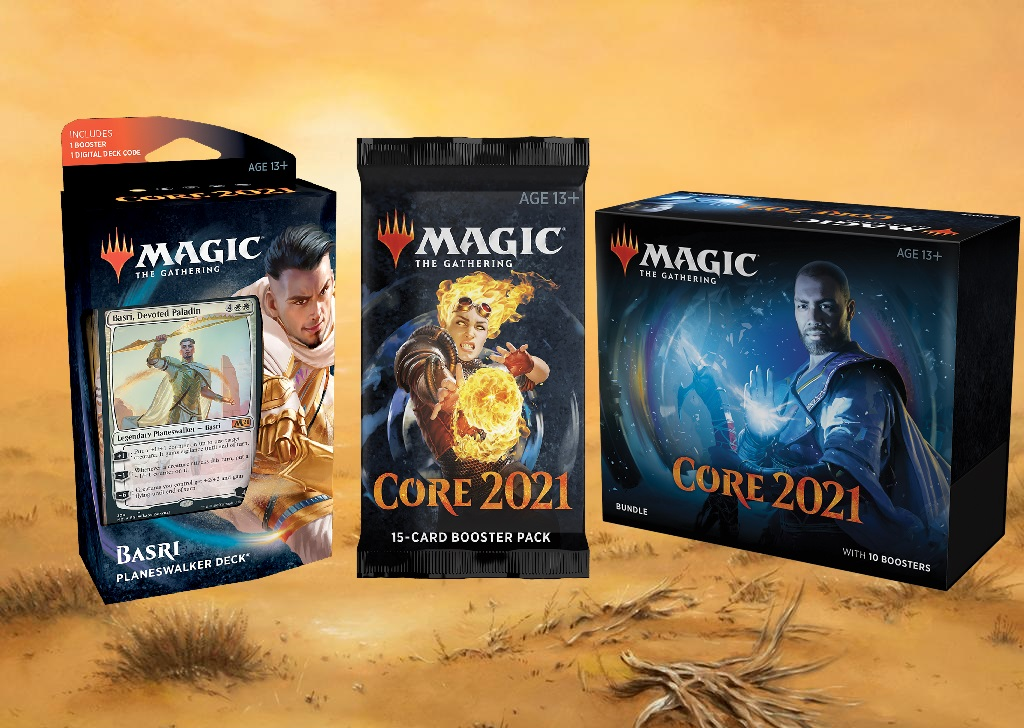 Core Set 2021 Products Banner