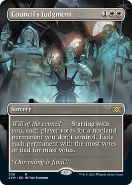 Council's Judgment Box Topper Double Masters