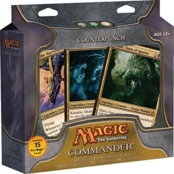 All Commander Precons List Counterpunch