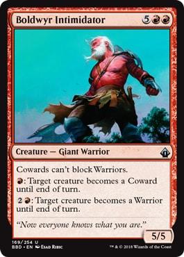 Cowards cant Block Warriors Zendikar Rising Spoilers Teasers