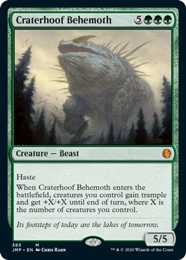 Craterhoof Behemoth Jumpstart
