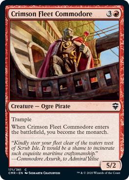 Crimson Fleet Commodore Commander Legends All Cards