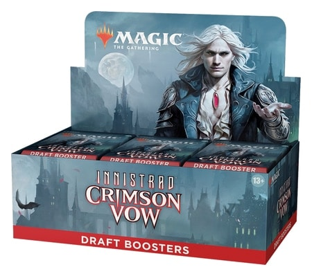 Crimson Vow Product List Draft Booster Box