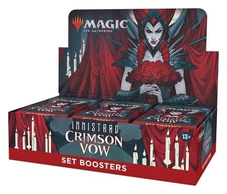 Crimson Vow Set Booster Box