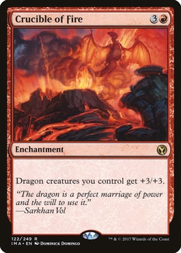 Crucible of Fire Top 10 Best MTG Dragons