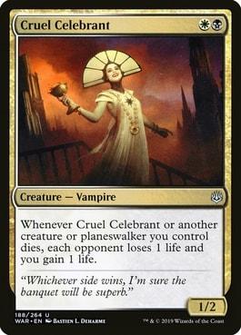 Cruel Celebrant Best MTG Vampires
