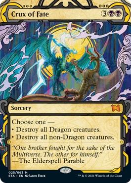 Crux of Fate Mystical Archive Card List