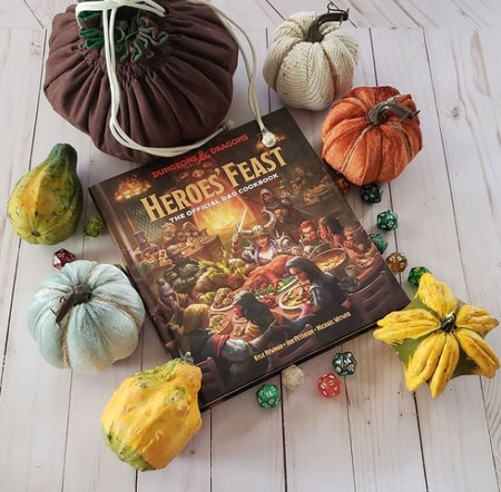 DND Cookbook Gift for Dungeons and Dragons Players