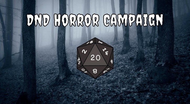 DND Horror Campaign Banner