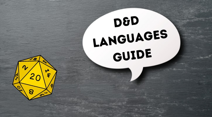 DND Languages Guide 5e Banner