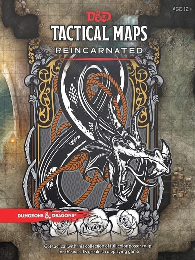 DND Tactical Maps Reincarnated Gift Guide