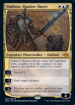 Dakkon, Shadow Slayer Modern Horizons 2 Spoilers