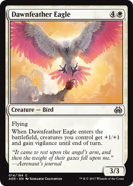 Dawnfeather Eagle Kaladesh Remastered Draft Guide
