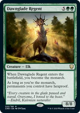 Dawnglade Regent All Cards Commander Legends