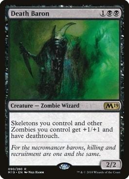 Death Baron Zombie Tribal Commander
