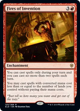 Fires of Invention Banned in Standard