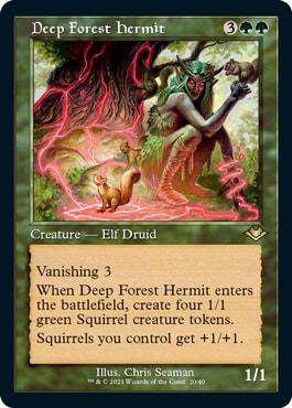 Deep Forest Hermit Old Border Modern Horizons 2 Cards List