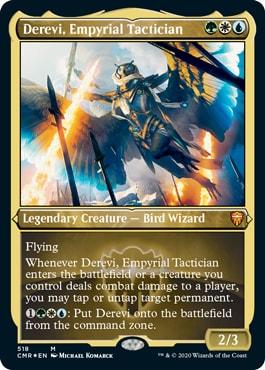 Derevi Empyrial Tactician Best Wizards MTG