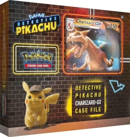 Detective Pikachu Charizard Case File Gift Guide Pokemon TCG Cards