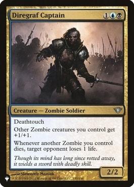 Diregraf Captain Zombie Lords MTG