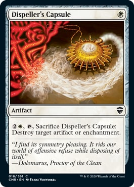 Dispeller's Capsule Commander Legends All Cards