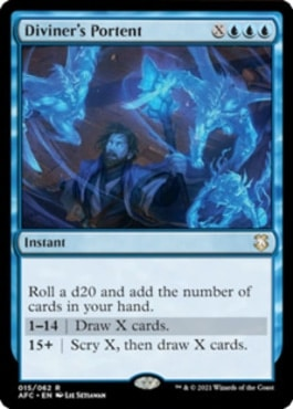Diviner's Portent DND Commander Decks