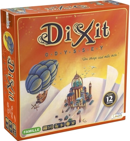 Dixit Odyssey Expansion for More Players