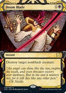 Doom Blade Mystical Archive Version