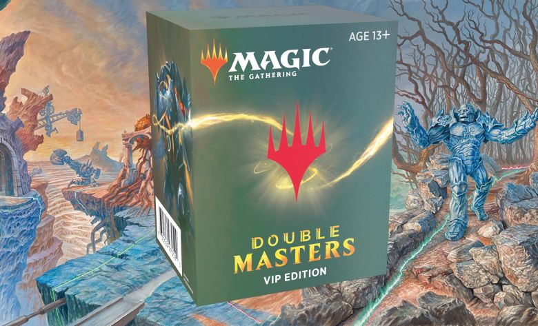 Double Masters Booster VIP Edition Contents Box Toppers Banner